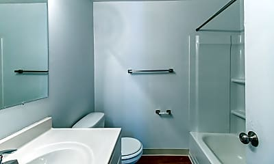 Bathroom, Grosvenor North Apartments, 2