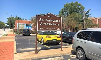 St. Raymonds Apartments, 1