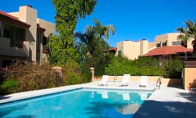 Pool, Copper Point Apartments, 0