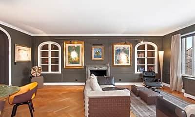 Living Room, 150 Central Park S, 2