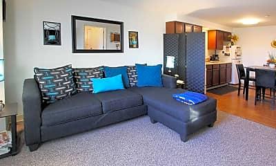 Living Room, Hertel Park Senior Complex, 1