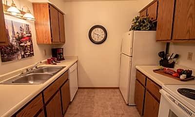 Kitchen, Southfield Apartments, 1