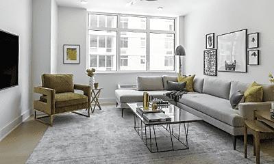 Living Room, 7604 River Rd, 0