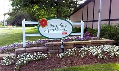 Foxglove Apartments, 1