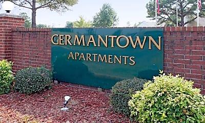 Community Signage, Germantown, 2