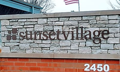 Community Signage, Sunset Village MHC, 1
