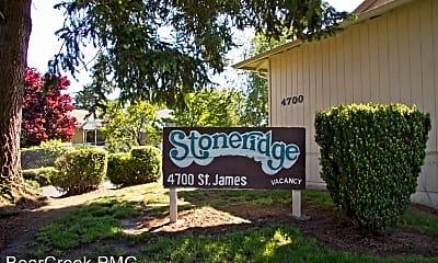 Community Signage, 4622 NE St James Rd, 0