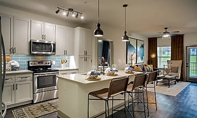 Kitchen, Cortland Riverside, 1