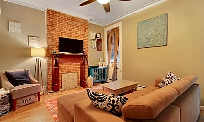 Living Room, 1216 Washington St 4S, 0