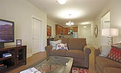 Living Room, Woodcrest At Clark, 1