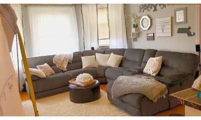 Living Room, 879 Beacon St, 0