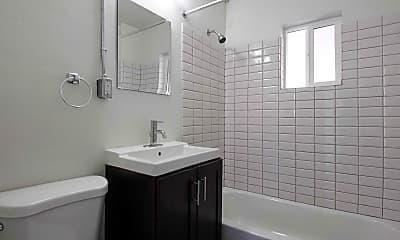 Bathroom, Fairmount Apartments, 2