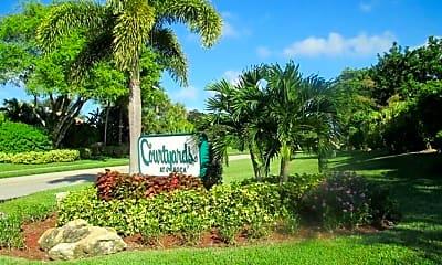 Community Signage, 7781 Courtyard Run W, 2