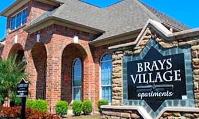 Community Signage, Brays Village Apartments, 0