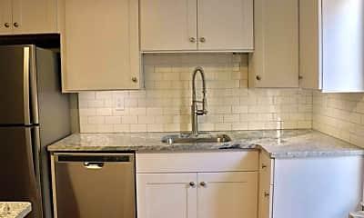 Kitchen, Ashland & Richmond Ave. Apartments, 1