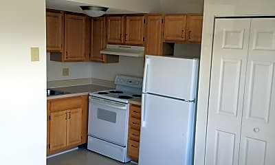 Kitchen, Ledgewood Village Apartments, 1