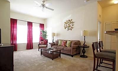 Living Room, Maple Crest Apartments, 1