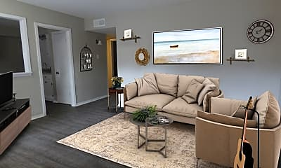 Living Room, 605 Patterson St, 1