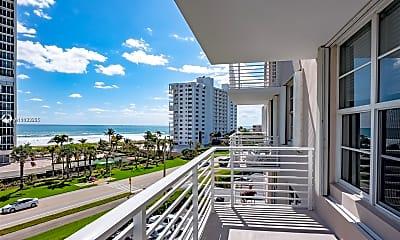 Patio / Deck, 2851 S Ocean Blvd 5T, 0