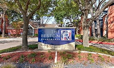 Community Signage, The Reston, 2
