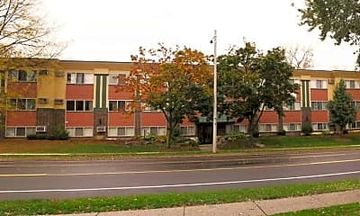 Building, Abbot Manor, 1