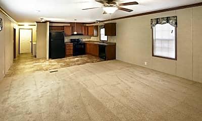 Living Room, West Glen Village, 1
