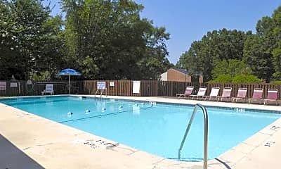 Pool, Copperfield Apartments, 0