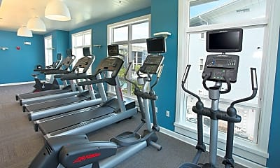 Fitness Weight Room, Eastmar Commons, 2