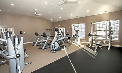 Fitness Weight Room, Preserve At Grande Oaks, 2