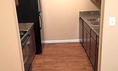 Kitchen, Trail's Edge Apartments, 0