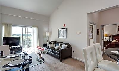 Living Room, J Highlands at Hudson, 1