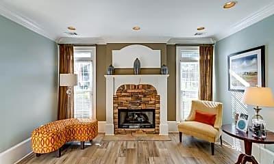 Living Room, Hamptons at East Cobb, 2