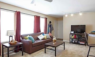 Living Room, Burbank Commons, 1