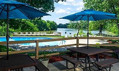 Patio / Deck, Lake In The Woods, 1