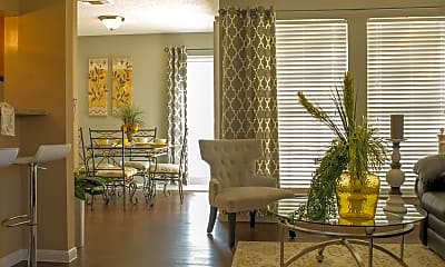 Living Room, Oak Bend Place, 0