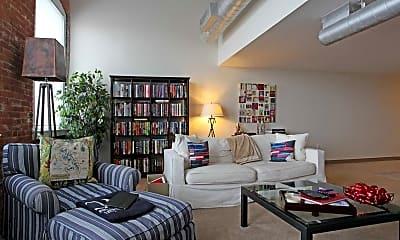 Living Room, Stone Block Cleveland, 1