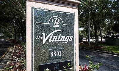 Community Signage, The Vinings at Hunter's Green Apartments, 2