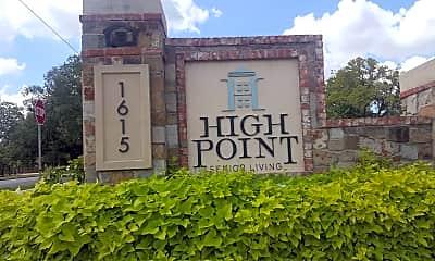 High Point Senior Living, 1