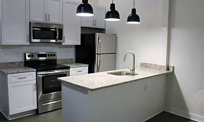 Kitchen, Culpeper Lofts, 1