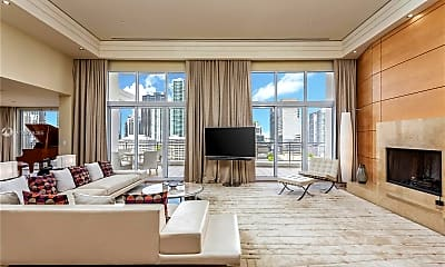 Living Room, 500 Brickell Key Dr PH, 1