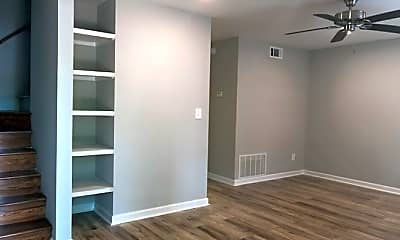 Living Room, Orchard Springs Townhomes, 1