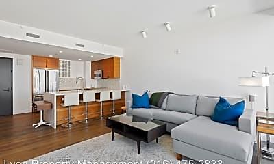 Living Room, 500 J St, 1