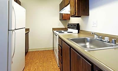 Kitchen, Moana Apartment Homes, 1