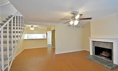 Living Room, 6910 Hart Lane, #704, 1