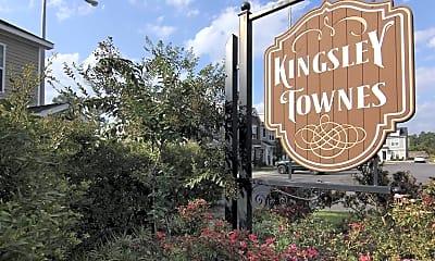 Community Signage, Kingsley Townes, 2
