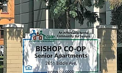 Bishop Co-op, 1