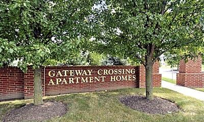 Community Signage, Gateway Crossing Apartments, 2