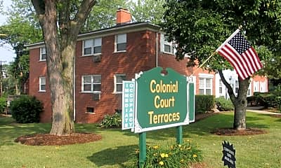 Community Signage, Colonial Court Apartments & Townhomes, 2
