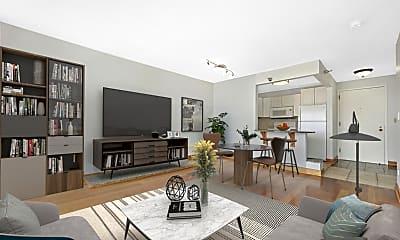 Living Room, 111 W Maple St 3109, 1