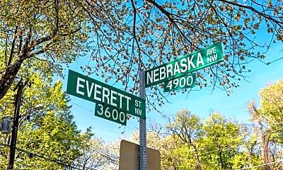 Community Signage, 3640 Everett St NW, 2